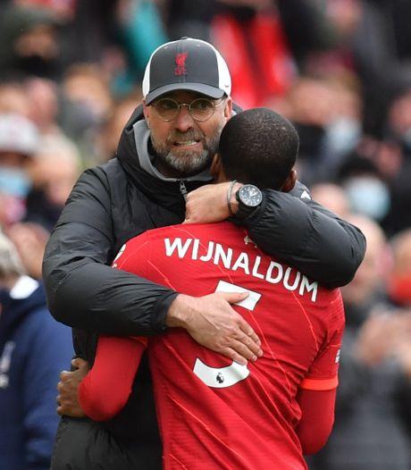 Wijnaldum laat 'leegte' achter bij Liverpool: 'Ik zal hem enorm missen'