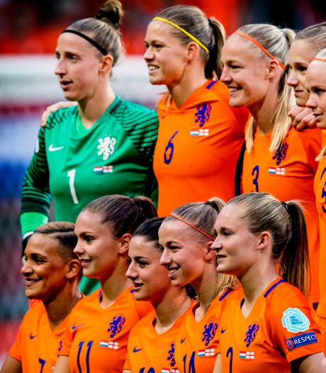 Oranje Leeuwinnen blijven nummer 7 van de wereld