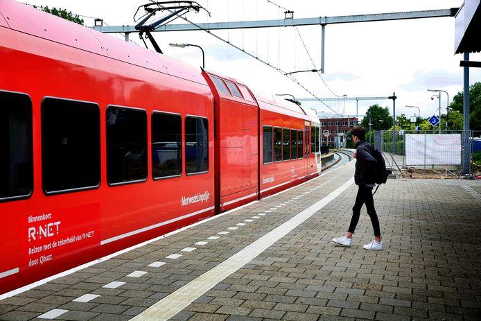 Trein op de MerwedeLingeLijn