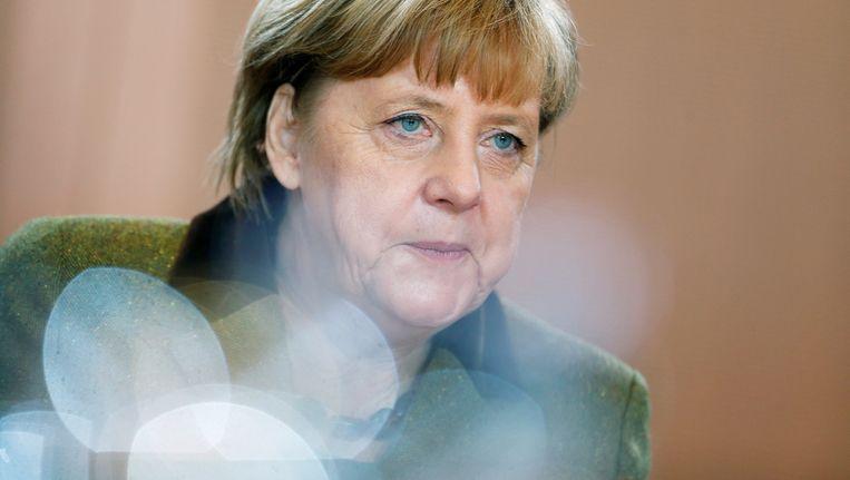 De Duitse bondskanselier Angela Merkel. Beeld REUTERS