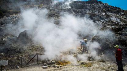 """Supervulkaan naast Napels """"laadt zich op voor mega-uitbarsting"""""""