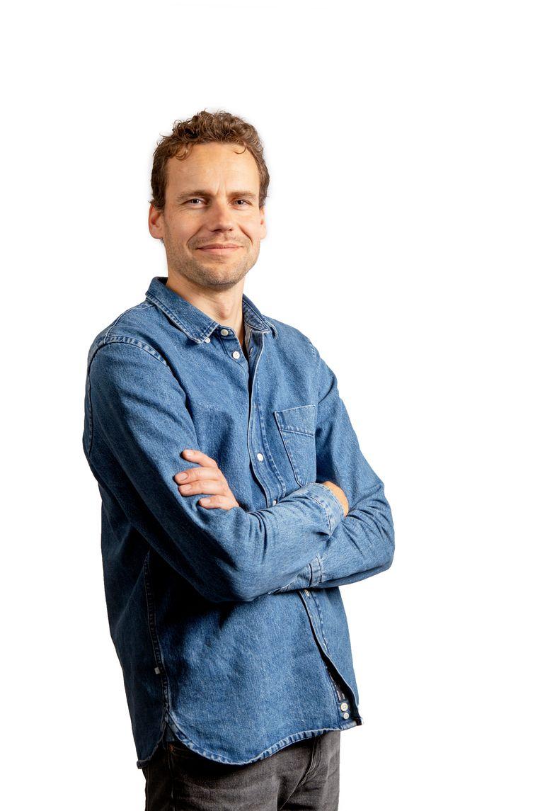 Jeroen Visser, de kersverse Volkskrant-correspondent in Scandinavië. Beeld Pauline Niks