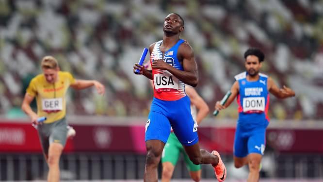 Slinken onze medaillekansen? Verenigde Staten en  Dominicaanse Republiek mogen toch finale 4x400m mixed relay lopen