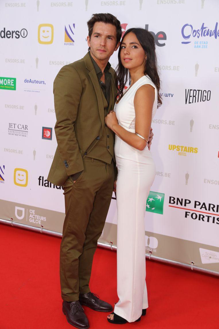 Mateo Simoni en zijn partner Loredana Falone.