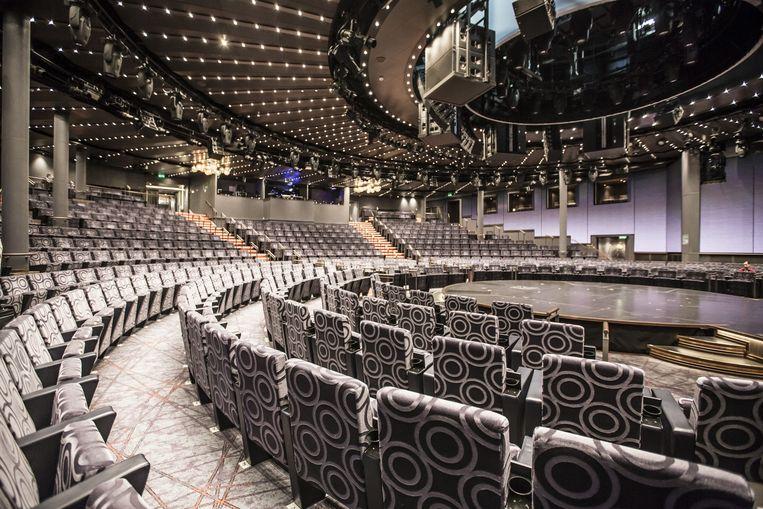 Het theater aan boord Beeld Eva Plevier