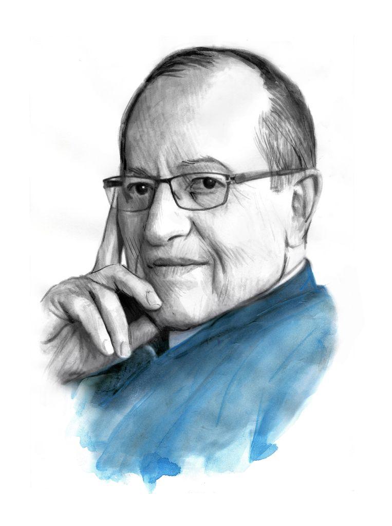 Alan Dershowitz. Beeld Berto Martinez
