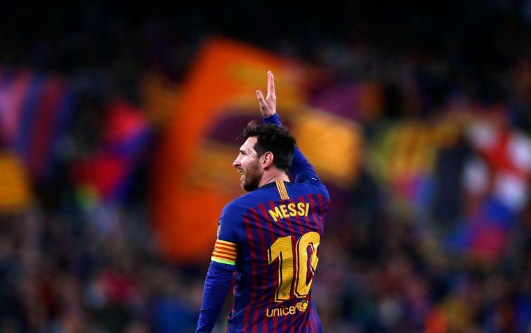 Messi arriveerde op zijn dertiende bij FC Barcelona, waar hij in 2004 debuteerde. Beeld AP