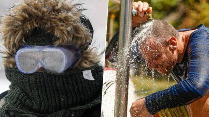 FOTO'S: Extreem koud in Amerika, extreem heet in Australië en extreem veel water in Europa