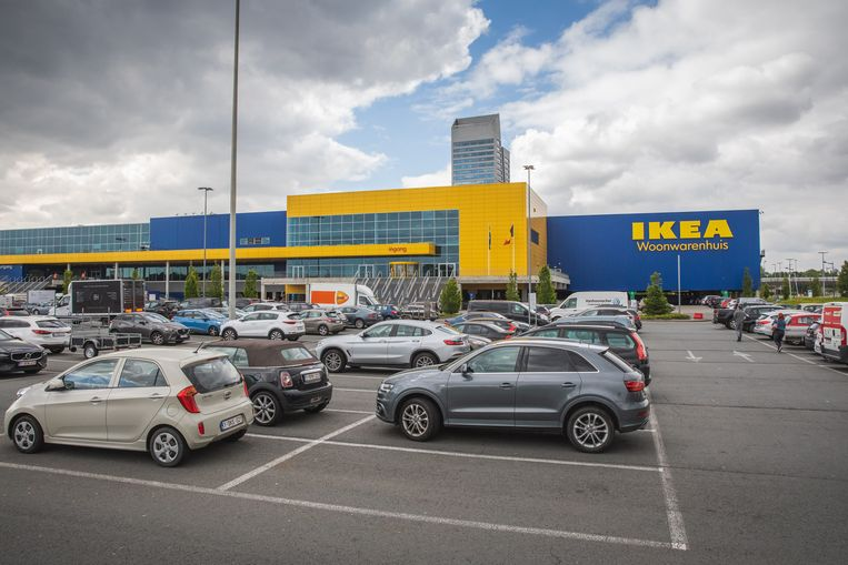 De winkel van Ikea in Gent.