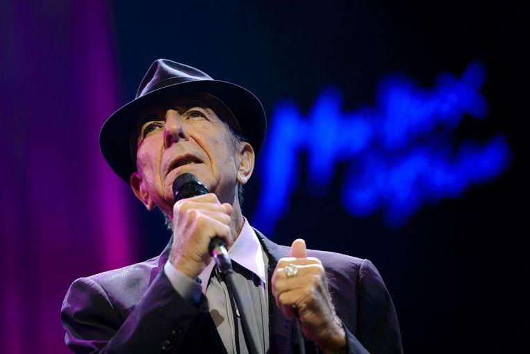Leonard Cohen Beeld afp