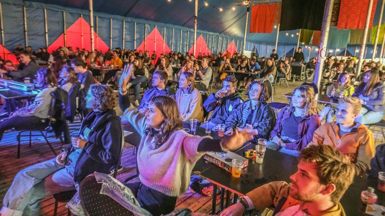 Dranouter Festival bewees vorig jaar al op een veilige manier te kunnen organiseren.   Beeld Henk Deleu