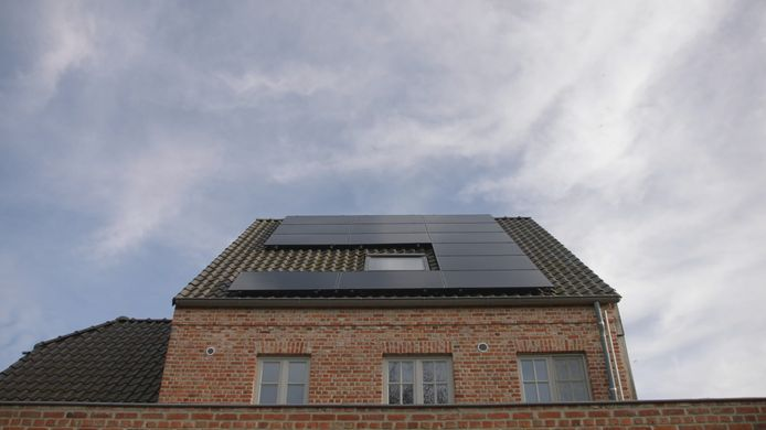 Stockbeeld - zonnepanelen