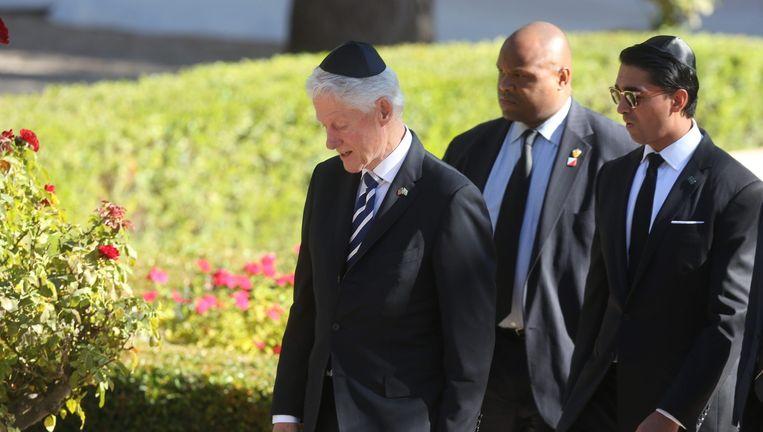 De Amerikaanse oud-president Bill Clinton. Beeld EPA