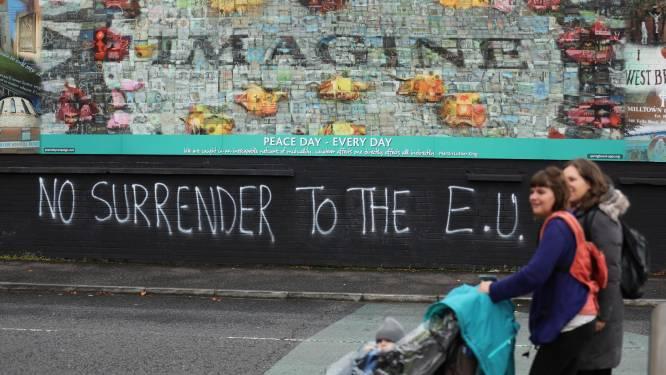 EU en VK overleggen donderdag over controles grens Noord-Ierland