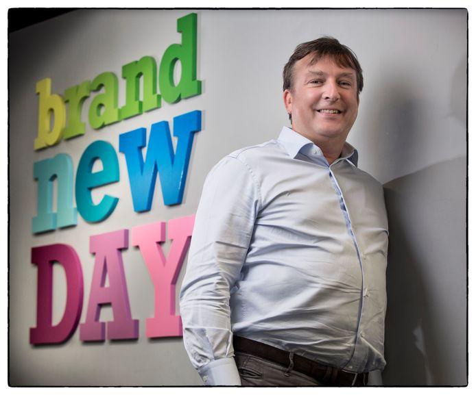 Kalo Bagijn, co-oprichter en co-directeur van Nederlands' nieuwste bank Brand New Day.