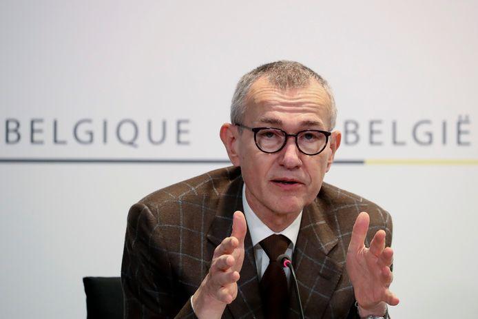 Le ministre de la Santé publique, Frank Vandenbroucke.