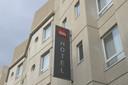 Het Antwerpse Ibis Hotel.