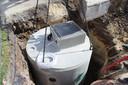 Bij een nieuwbouwproject moet je een regenwaterput installeren van 5.000 tot 10.000 liter groot zijn, afhankelijk van de oppervlakte van je dak.