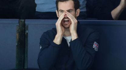Groot-Brittannië rekent ook in halve finale van Davis Cup niet op Andy Murray
