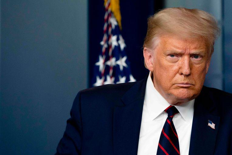 President Donald Trump. Beeld AFP