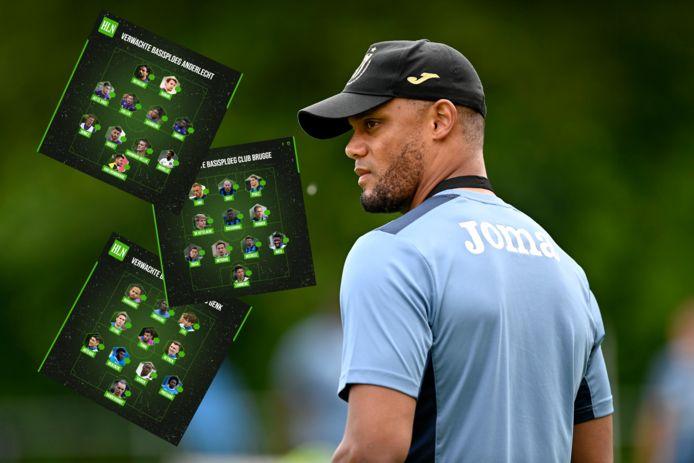 Vincent Kompany begint volgend weekend met Anderlecht aan de competitie. Er wacht meteen een clash met Union.