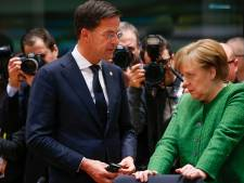 Rutte bereid om Merkel te hulp te schieten