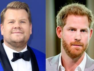 Prins Harry neemt 'Carpool Karaoke' op met tv-presentator James Corden