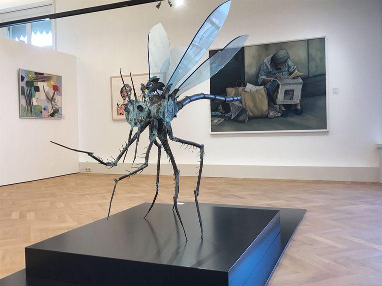 De tentoonstelling Een monument voor de BKR in het Gorcums Museum toont een selectie van de twintigduizend werken omvattende Rijkscollectie. Beeld