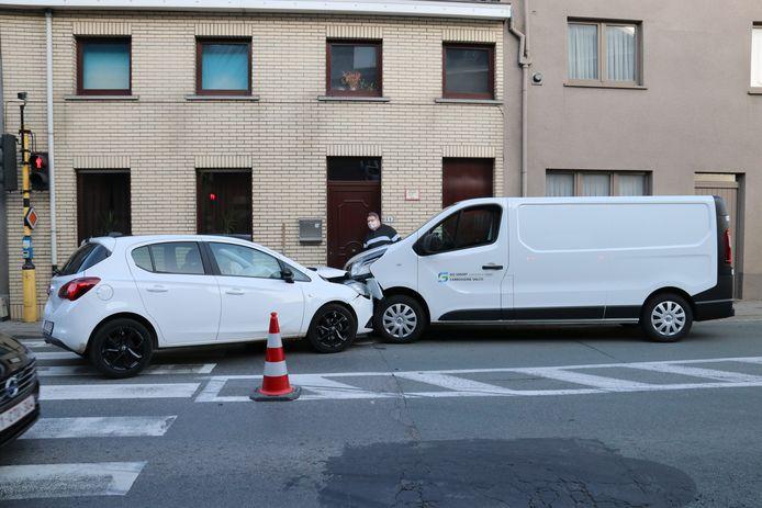 De schade was groot na het ongeval.