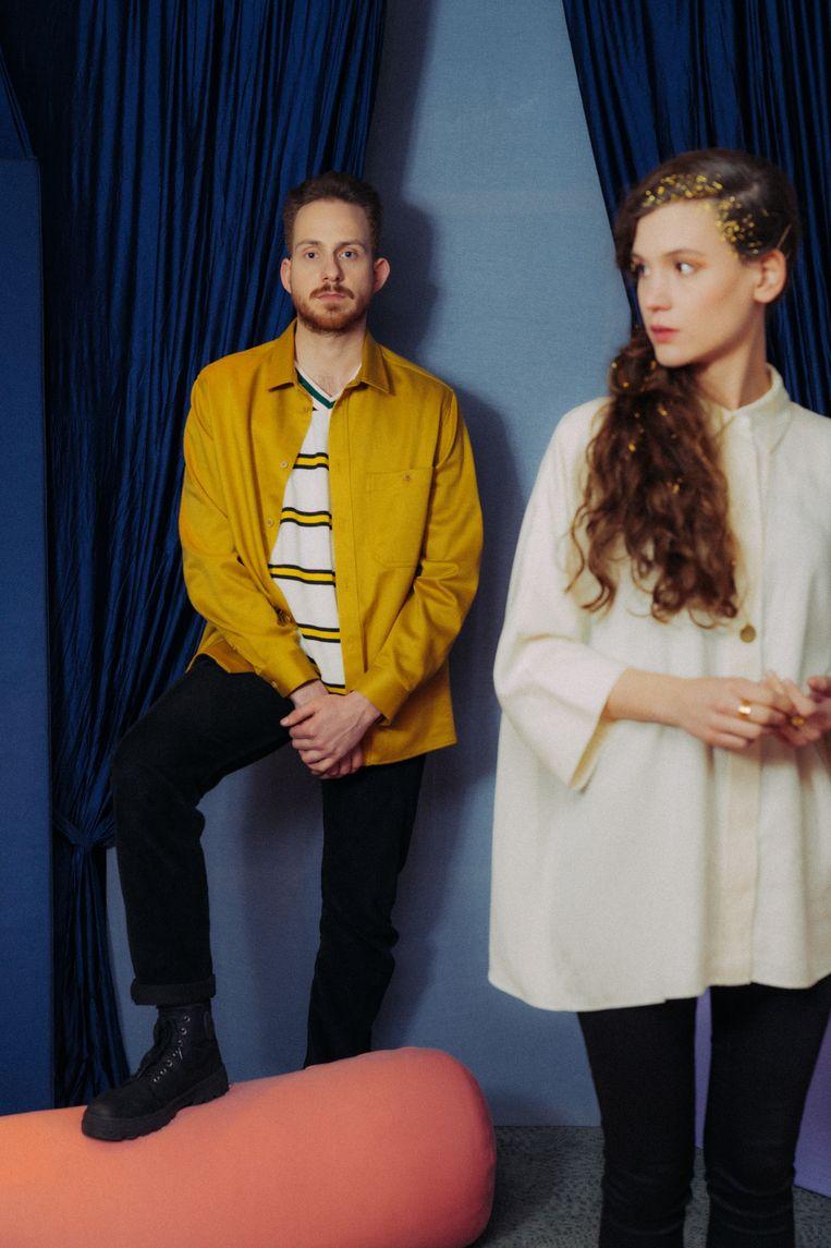 Ruben Lefever en Rozanne Descheemaeker. 'We leefden op een wolk.'  Beeld RV Illias Teirlinck