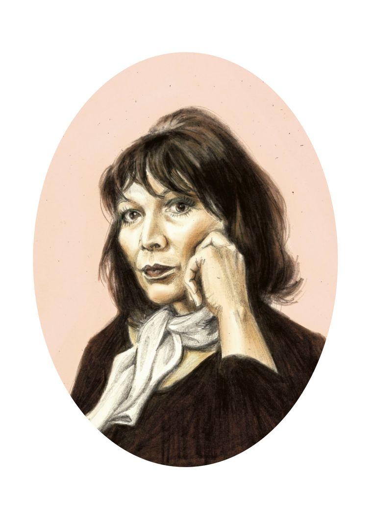 In vergelijking met Edith Piaf, wier stem door merg en been ging, klonk u rustig, zelfs onderkoeld Beeld Penelope Deltour