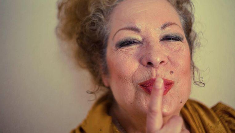 De 69e jarige flamencokoningin Antonia Santiago - podiumnaam La Chana - uit de documentaire van regisseuse Lucija Stojevic. Beeld La Chana