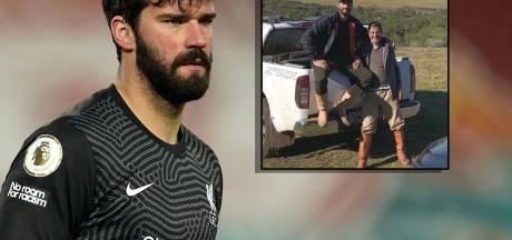 Drama voor Liverpool-doelman Becker: vader (57) verdrinkt na duik in meer