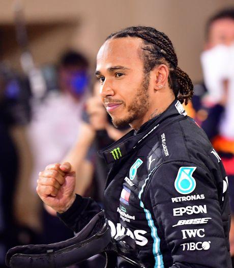 Hamilton tekent bij voor één jaar: 'Lewis staat voor het beste dat de sportwereld ooit heeft gezien'