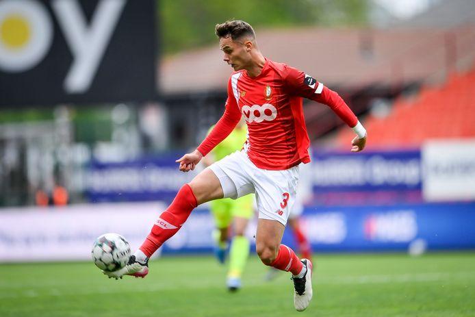Huit mois après sa terrible blessure au genou, Zinho Vanheusden a retrouvé la pelouse de Sclessin ce jeudi.