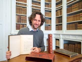 """Kasteel d'Ursel voegt twee bijzondere boeken toe aan collectie: """"Boekbinder was ware kunstenaar"""""""