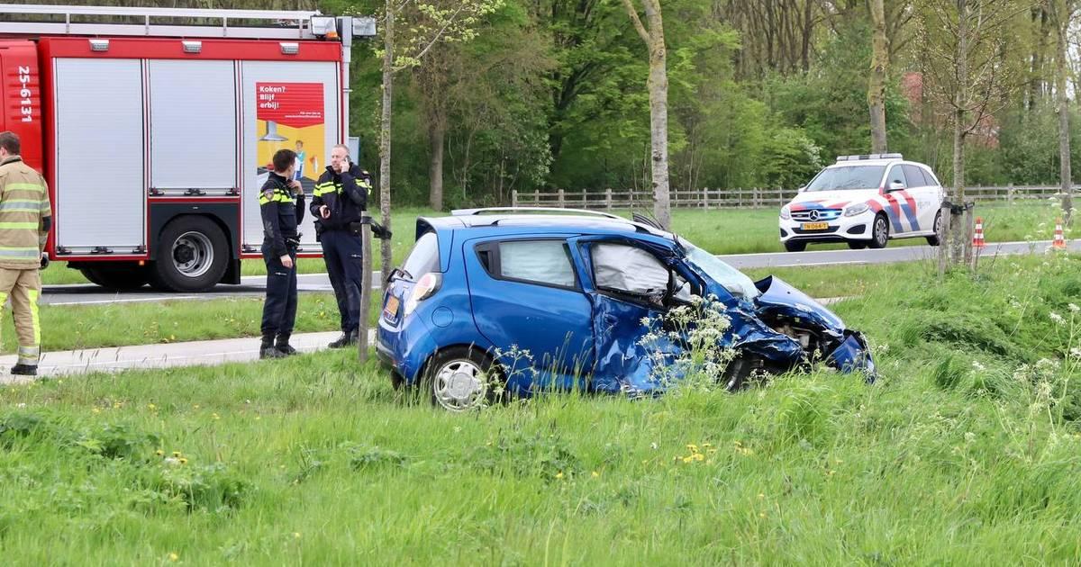 Twee gewonden na ongeluk op kruising bij Tollebeek.
