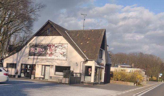 Eethuis Florya, gelegen aan de Sint-Antoniusweg.
