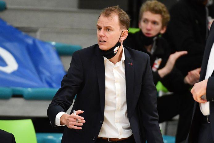 Kristof Michiels is begonnen aan zijn eerste grote uitdaging als headcoach.