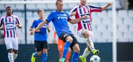 Willem II oefent bij Cercle Brugge