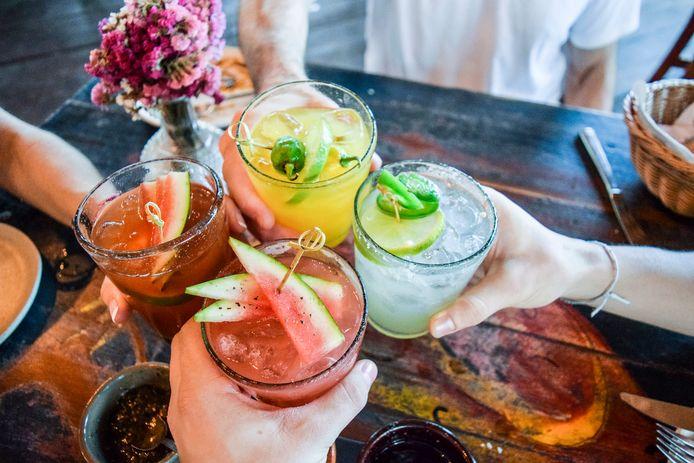 Voor iedere smaak is er wel een cocktail (ook zonder alcohol).