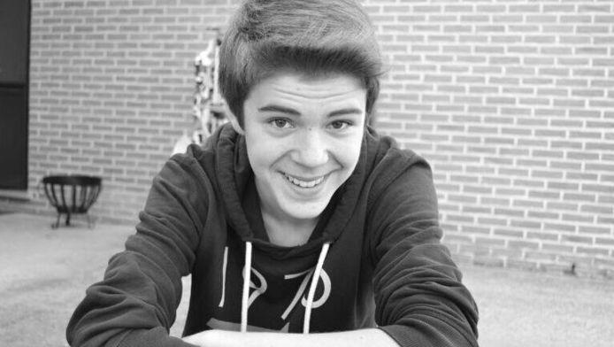 De 16-jarige Dylan Aendekerk.