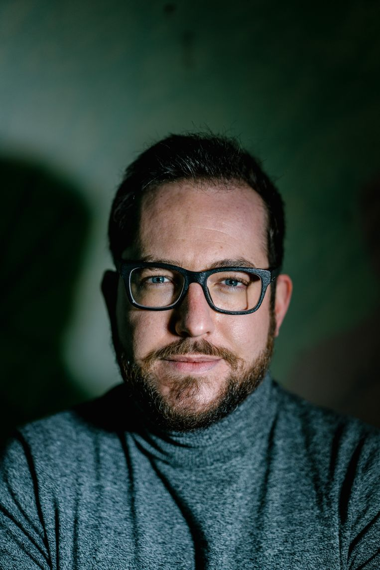 Matthias Dobbelaere-Welvaert: 'Ik beloof nergens dat privacy beschermen gemakkelijk is.' Beeld Wouter Van Vooren