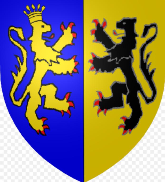 Het wapen van groothertogdom Gelre.