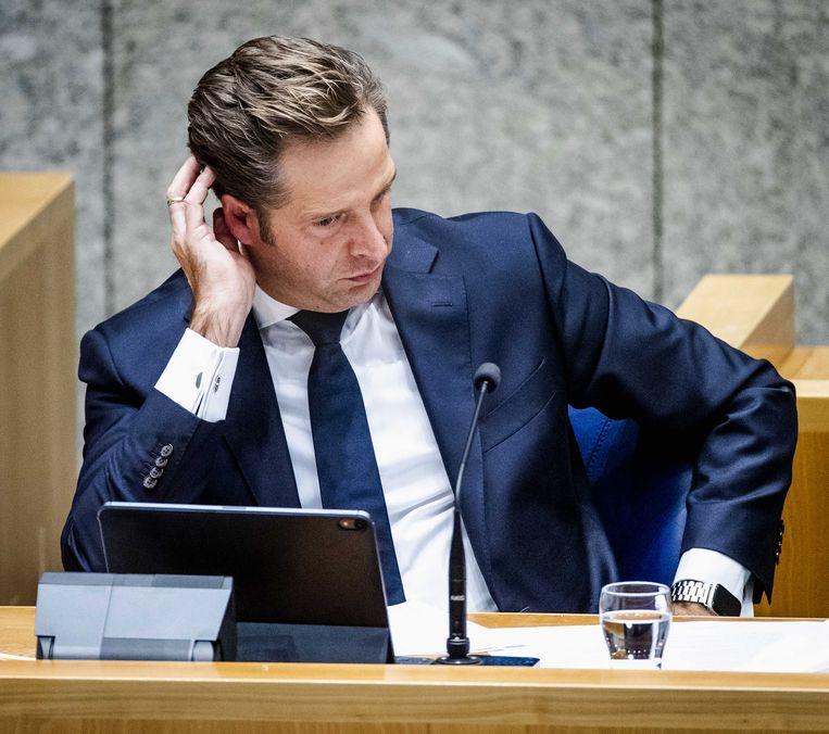 Hugo de Jonge, minister van Volksgezondheid, Welzijn en Sport. Beeld ANP
