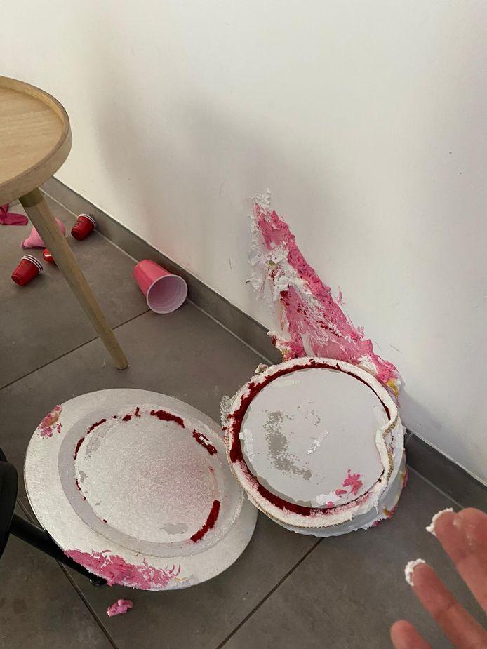 Na een 'feestje' was het een ravage in het appartement van Daniel, dat hij via Airbnb verhuurde.