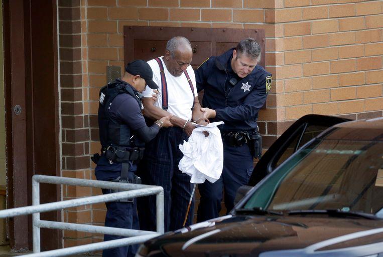 Cosby werd in 2018 veroordeeld tot drie tot tien jaar gevangenisstraf. Die straf wordt nu geschrapt. Beeld Jacqueline Larma
