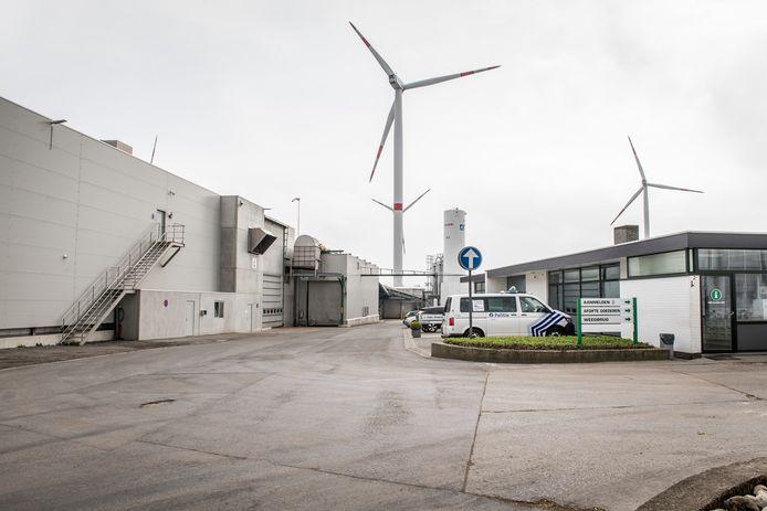 Het arbeidsongeval vond drie jaar geleden plaats bij composteringsbedrijf Sterckx in Rumbeke.