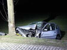 Automobilist overleden bij eenzijdig ongeval tussen Raalte en Heeten