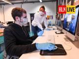 LIVE. Ziekenhuizen moeten overschakelen naar fase 2a - VS keuren virusremmer remdesivir goed - Onderwijs in Duitstalige gemeenschap naar code rood